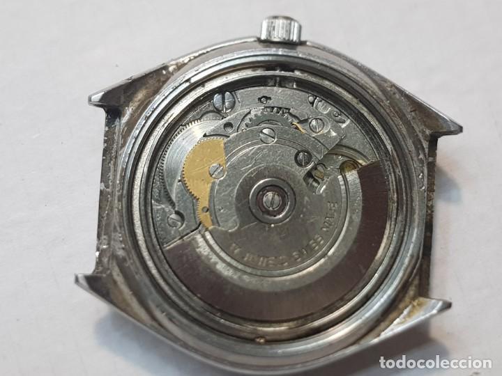 Relojes automáticos: Reloj Caballero Reyblan Automatic 17 jewels esfera verde difícil funcionando - Foto 2 - 220298887