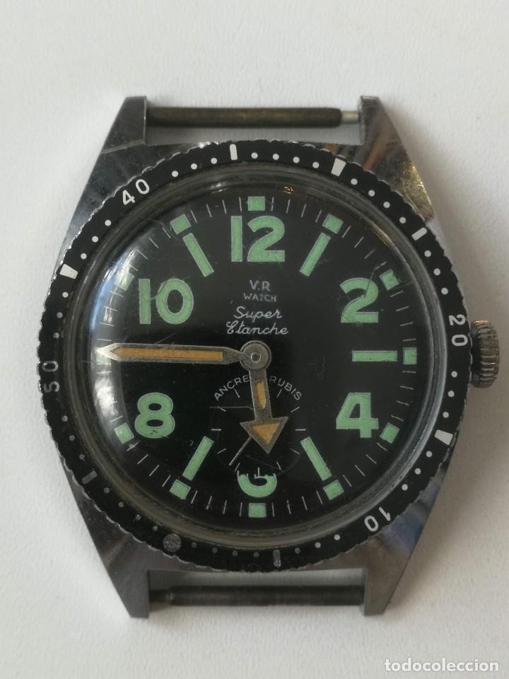 PRECIOSO RELOJ VINTAGE DE PULSERA - AÑOS 60-70 - FUNCIONANDO - V.R WATCH SUPER ÉTANCHE - ANCRE 17 RU (Relojes - Relojes Automáticos)