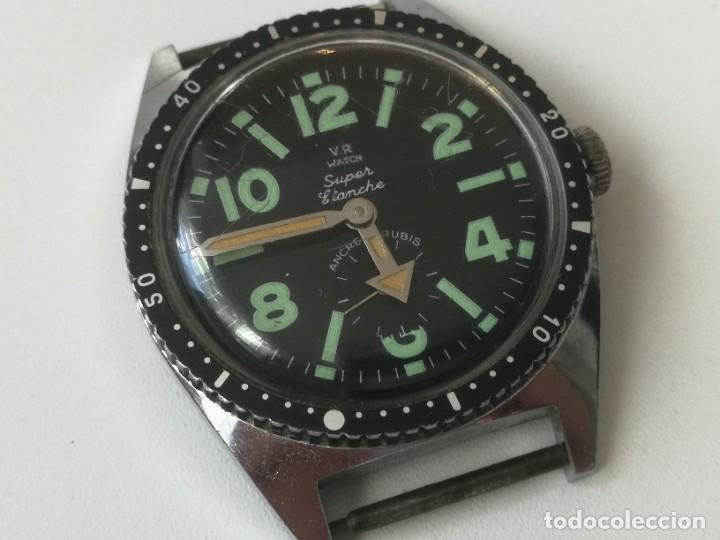 Relojes automáticos: PRECIOSO RELOJ VINTAGE DE PULSERA - AÑOS 60-70 - FUNCIONANDO - V.R WATCH SUPER ÉTANCHE - ANCRE 17 RU - Foto 2 - 220460612
