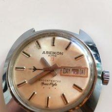 Relojes automáticos: RELOJ ASEIKON SÚPER 23 DAY DATE. Lote 220721327