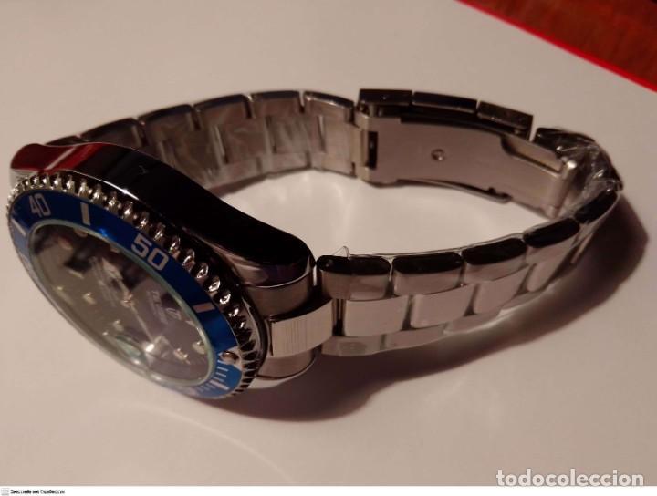 Relojes automáticos: SUBMARINER ESTILO RELOJ AUTOMATICO - Foto 2 - 221514218