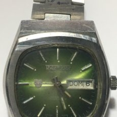 Relojes automáticos: RELOJ THERMIDOR T AUTOMÁTICO EN ACERO COMPLETO VINTAGE. Lote 221544932