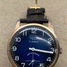 Relojes automáticos: RELOJ SERTY CARGA MANUAL MAQUINARIA SWISS MADE. Lote 221774837
