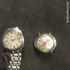 Relógios automáticos: LOTE DE 2 RELOJES SEIKO Y CAUNY VINTAGE. Lote 221780276