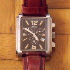 Relojes automáticos: LOTUS. 15249. REGISTERED MODEL. 50 METERS WATER RESIST. CORREA DE PIEL. 4X3 CM. BUEN ESTADO.. Lote 221796252