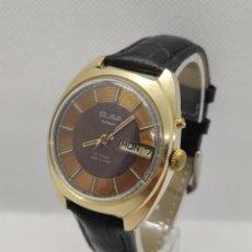 Relojes automáticos: RELOJ RUSO SLAVA URSS- ORO CHAPADO AU , 27 RUBÍES - AUTOMATICO. Lote 221835141