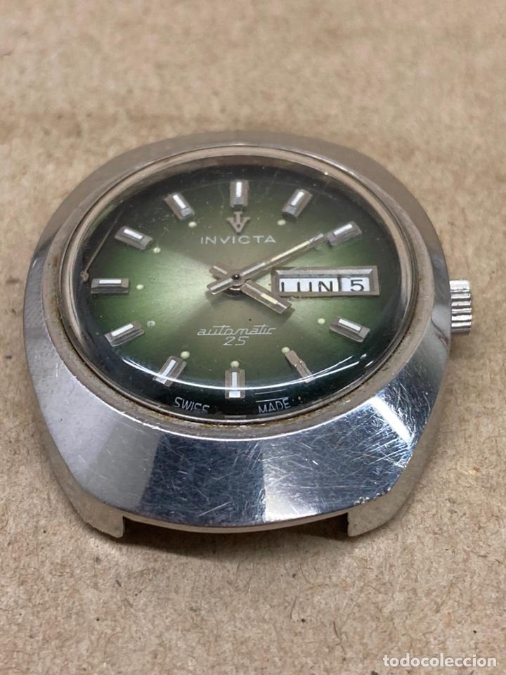 RELOJ INVICTA AUTOMÁTICO PARA PIEZAS (Relojes - Relojes Automáticos)