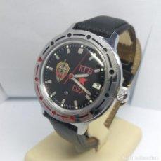 Relojes automáticos: RELOJ RUSO KGB CCCP VOSTOK AUTOMÁTICO - CAJA 4 CM - FUNCIONANDO. Lote 222344988
