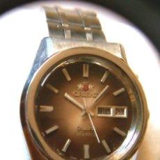 Relojes automáticos: RELOJ ORIENT CRISTAL AUTOMATICO FUNCIONANDO. Lote 222362696