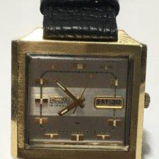 Relojes automáticos: RELOJ SEIKO AUTOMÁTICO ESPECIAL MILITAR 7006-5020 CUADRADO MUY RARO EN FUNCIONAMIENTO. Lote 222378382