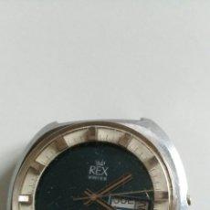 Relojes automáticos: RELOJ REX. Lote 222464441