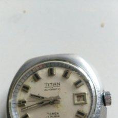 Relojes automáticos: RELOJ TITAN. Lote 222465955