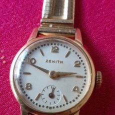 Relojes automáticos: RELOJ SUIZO ZENITH MUJER ORO DE 18 KT. Lote 222484342