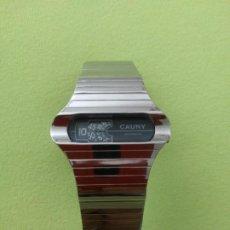 Relojes automáticos: RELOJ CAUNY VINTAGE AUTOMATICO. Lote 222836996