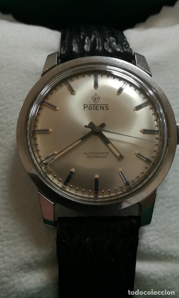 Relojes automáticos: Precioso Reloj suizo potens automático 3,8 cm - Foto 3 - 223052495