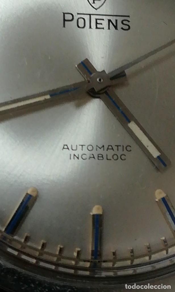 Relojes automáticos: Precioso Reloj suizo potens automático 3,8 cm - Foto 8 - 223052495