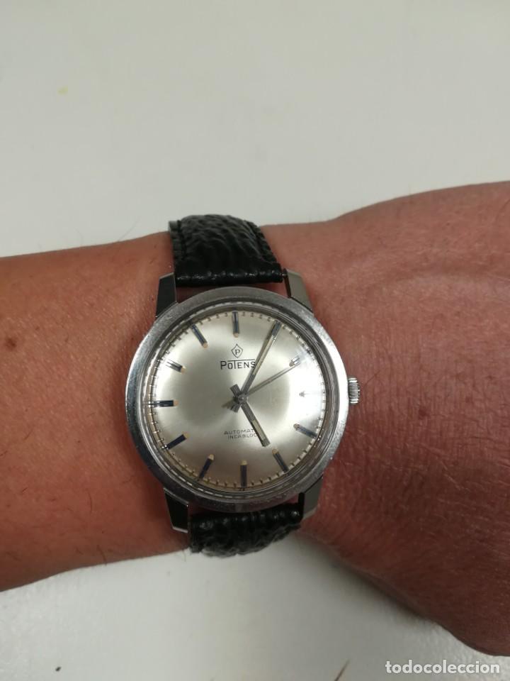 Relojes automáticos: Precioso Reloj suizo potens automático 3,8 cm - Foto 15 - 223052495