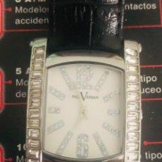 Relojes automáticos: PRECIOSO RELOJ SEÑORA PAUL VERSAN CON SWAROSKY. Lote 214603390