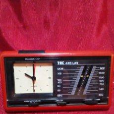 Relojes automáticos: RELOJ-RADIO-ALARMA MARCA TEC 415 UR. Lote 223725756