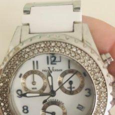 Relojes automáticos: RELOJ CORONOGRAFO PAUL VERSAN CON BRILLANTITOS. Lote 223783947