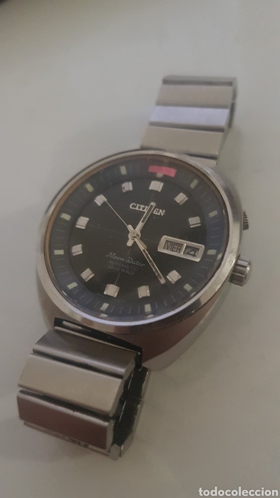 CITIZEN MOON DATER VINTAGE AUTOMATICO (Relojes - Relojes Automáticos)