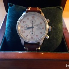 Relojes automáticos: RELOJ DE PULSERA CLASSIC CHRONOGRAPH DAY-DATE ZENO-WATCH BASEL- FUNCIONANDO !!!. Lote 224016638