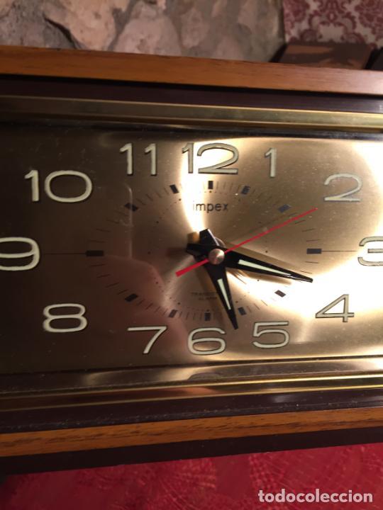 Relojes automáticos: Antiguo reloj de sobremesa marca Impex años 80 - Foto 5 - 224507843
