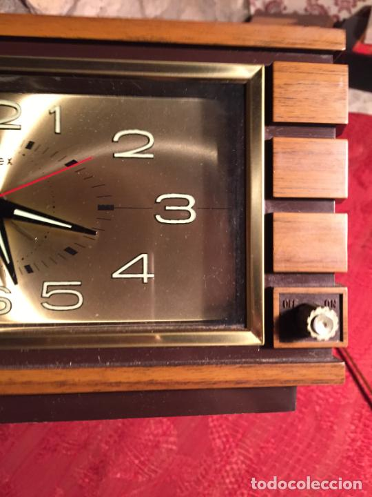 Relojes automáticos: Antiguo reloj de sobremesa marca Impex años 80 - Foto 6 - 224507843