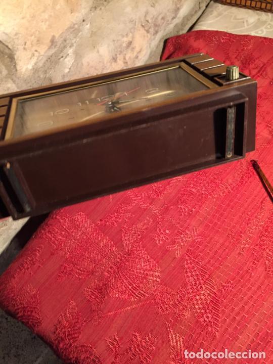 Relojes automáticos: Antiguo reloj de sobremesa marca Impex años 80 - Foto 7 - 224507843