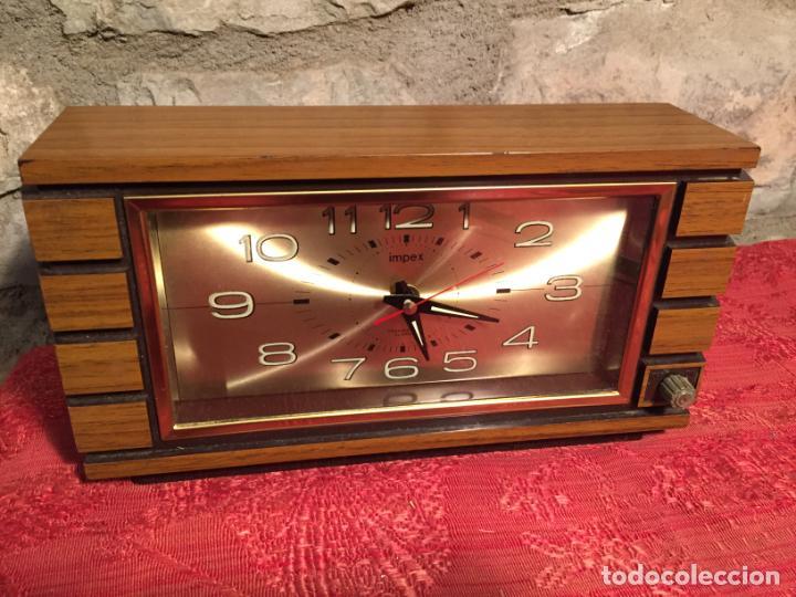ANTIGUO RELOJ DE SOBREMESA MARCA IMPEX AÑOS 80 (Relojes - Relojes Automáticos)
