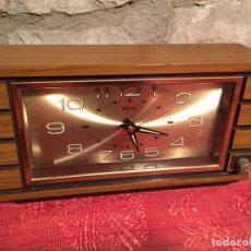 Relojes automáticos: ANTIGUO RELOJ DE SOBREMESA MARCA IMPEX AÑOS 80. Lote 224507843