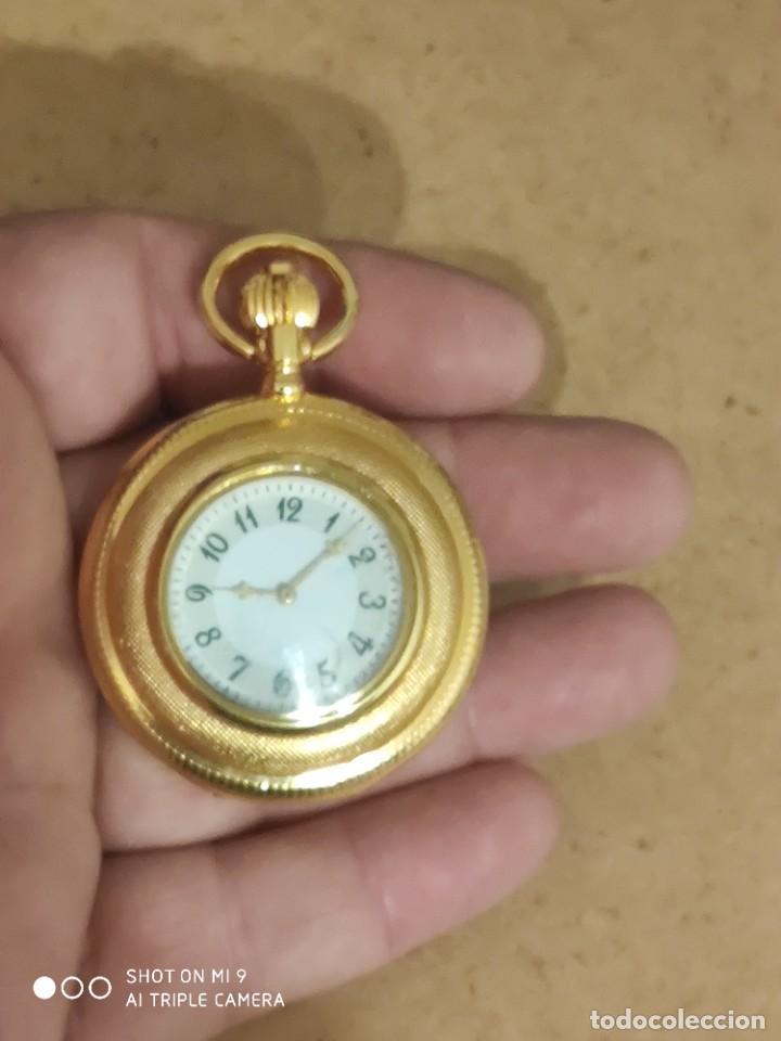 Relojes automáticos: PRECIOSO RELOJ DE BOLSILLO AUTOMÁTICO ,ESCENA SEXO INTERIOR, EN PERFECTO ESTADO, SIN MARCA. - Foto 4 - 224679090