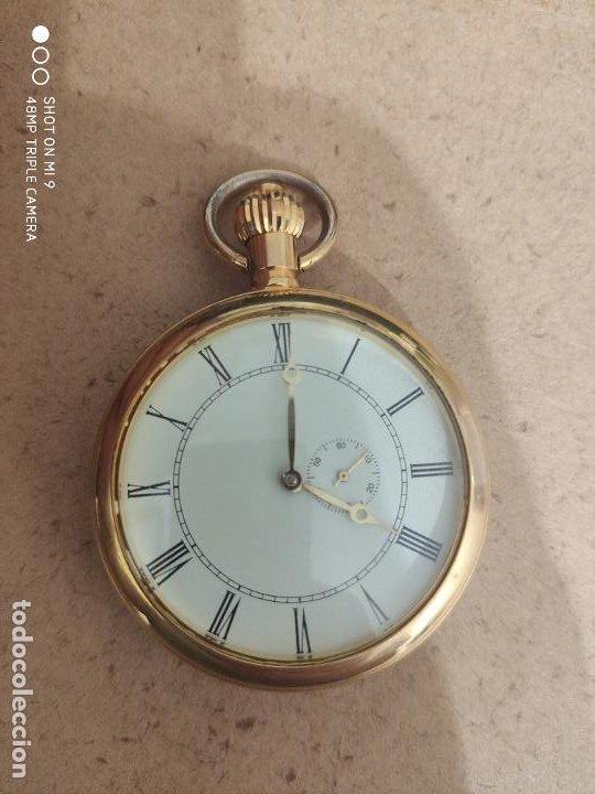 PRECIOSO RELOJ DE BOLSILLO AUTOMÁTICO EN PERFECTO ESTADO, SIN MARCA. (Relojes - Relojes Automáticos)