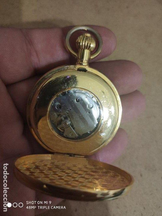 Relojes automáticos: PRECIOSO RELOJ DE BOLSILLO AUTOMÁTICO EN PERFECTO ESTADO, SIN MARCA. - Foto 4 - 224679230