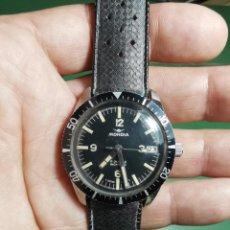 Relojes automáticos: RELOJ DE PULSERA MARCA MONDIA 17 JEWELS INCABLOC AÑOS 60-70 , FUNCIONA ANCHO 39 MM SUMERGIBLE-SCUBA. Lote 224925216