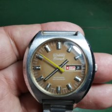 Relojes automáticos: RELOJ CABALLERO DUWARD TRIUMPH AUTOMATIC FUNCIONANDO 41 MM ANCHO CON CORONA. Lote 224926223