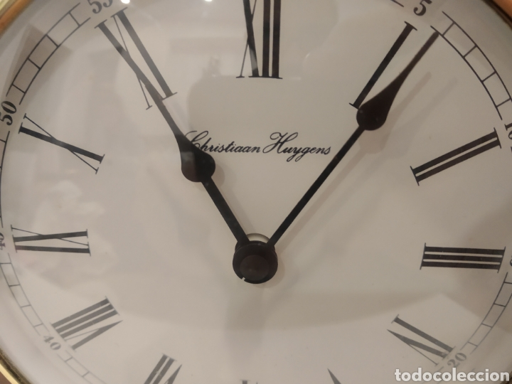 Relojes automáticos: RELOJ SOBREMESA CHRISTIAAN HUYGENS. AUTOMATICO. - Foto 10 - 225916085