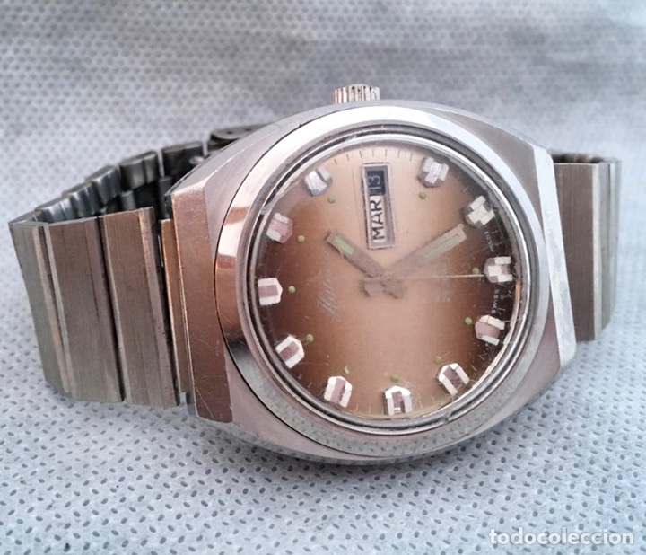 Relojes automáticos: HALCÓN. Reloj Halcón automatic de caballero antiguo - Foto 2 - 226152500