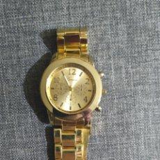 Relojes automáticos: RELOJ GENEVA DORADO. Lote 226858567