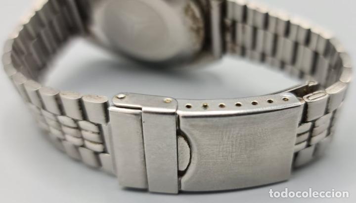 Relojes automáticos: RELOJ DE PULSERA CYMA BY SYNCHRON. MODELO CONQUISTADOR. SUIZA. CIRCA 1970. - Foto 2 - 227946495