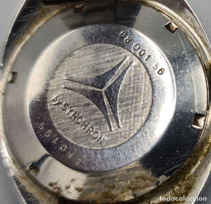 Relojes automáticos: RELOJ DE PULSERA CYMA BY SYNCHRON. MODELO CONQUISTADOR. SUIZA. CIRCA 1970. - Foto 5 - 227946495