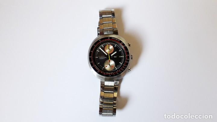Relojes automáticos: Seiko UFO reloj Cronógrafo automático años 70s - Foto 6 - 227890375
