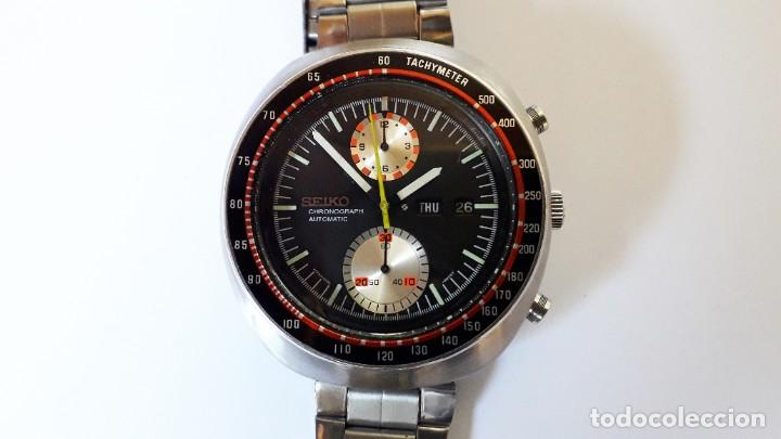 Relojes automáticos: Seiko UFO reloj Cronógrafo automático años 70s - Foto 2 - 227890375