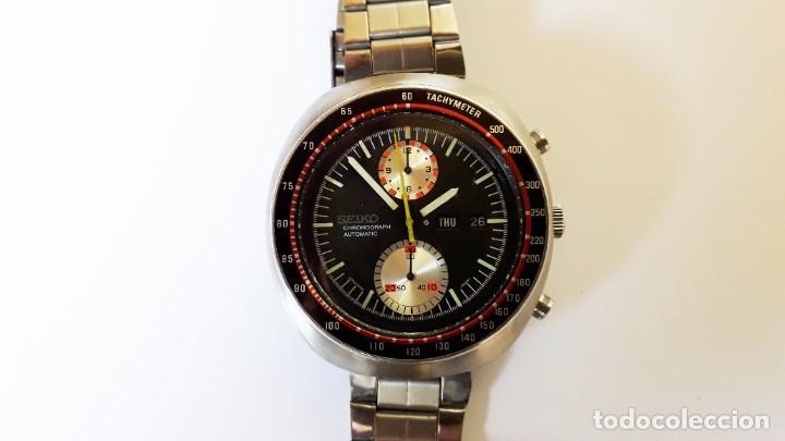 SEIKO UFO RELOJ CRONÓGRAFO AUTOMÁTICO AÑOS 70S (Relojes - Relojes Automáticos)
