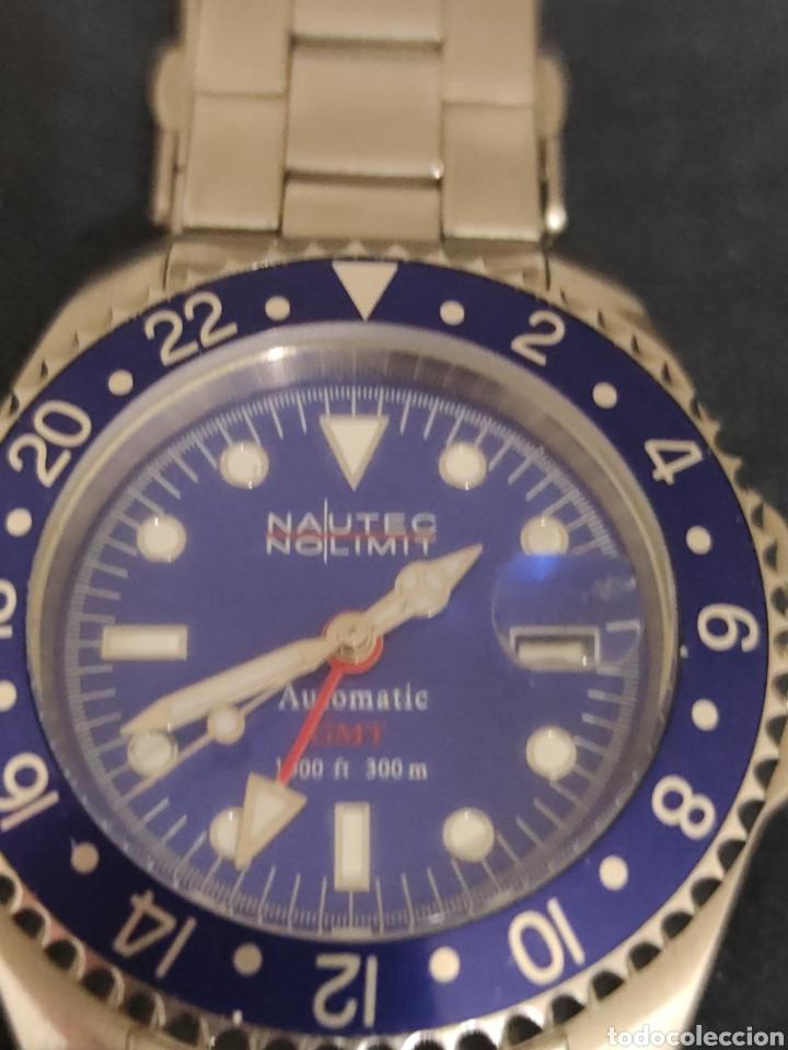 Relojes automáticos: PRECIOSO RELOJ NAUTEC NOLIMIT, AUTOMATICO SUMERGIBLE 300 METROS. - Foto 2 - 228662100