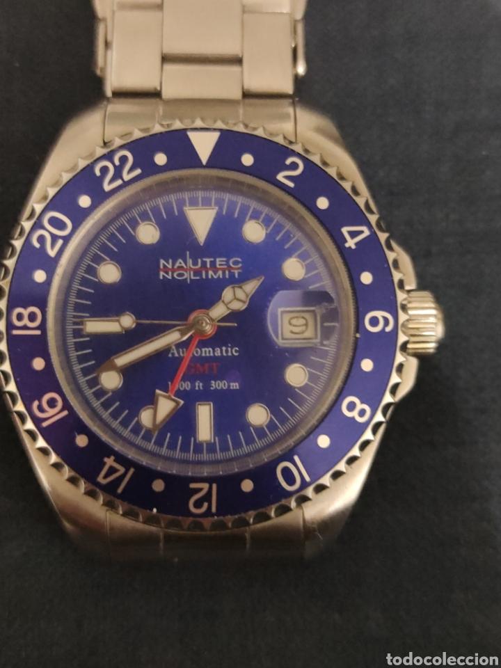 Relojes automáticos: PRECIOSO RELOJ NAUTEC NOLIMIT, AUTOMATICO SUMERGIBLE 300 METROS. - Foto 3 - 228662100