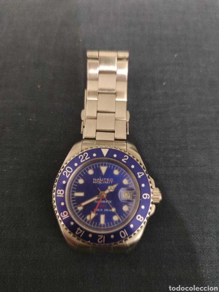 PRECIOSO RELOJ NAUTEC NOLIMIT, AUTOMATICO SUMERGIBLE 300 METROS. (Relojes - Relojes Automáticos)
