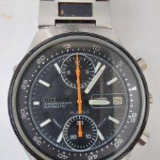 Relojes automáticos: RELOJ CRONOGRAFO AUTOMÁTICO CITIZEN FLYBACK - 23 JEWELS - JAPAN 8110 - 901077 KA - 4-901045 TA -. Lote 228969645