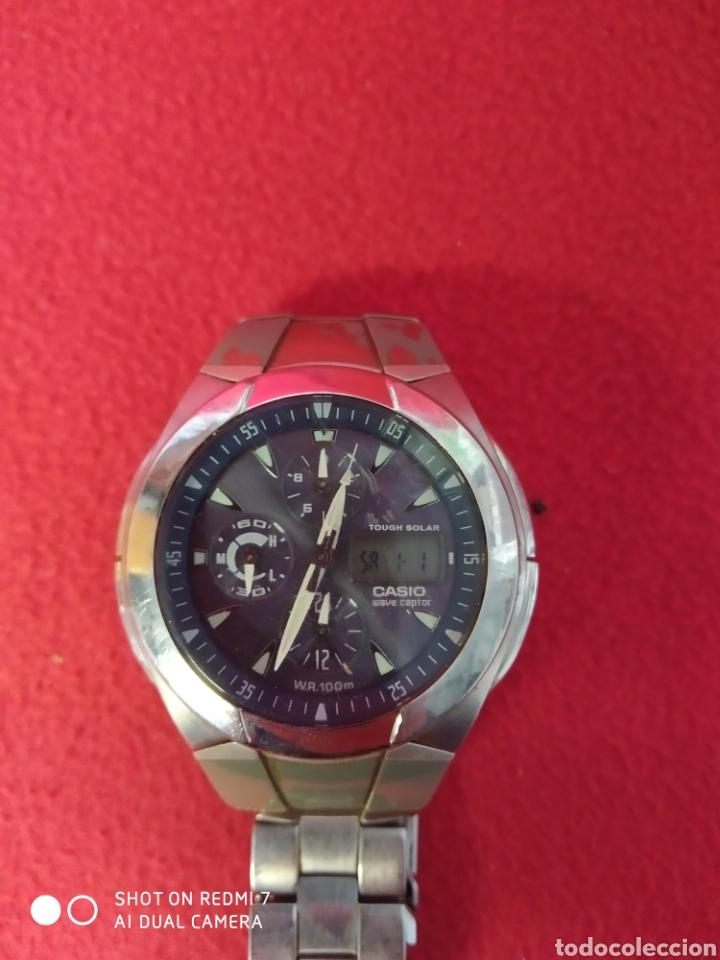 Relojes automáticos: RELOJ CASIO WAVE CEPTOR EVALUACIÓN 510 E - Foto 2 - 229505425