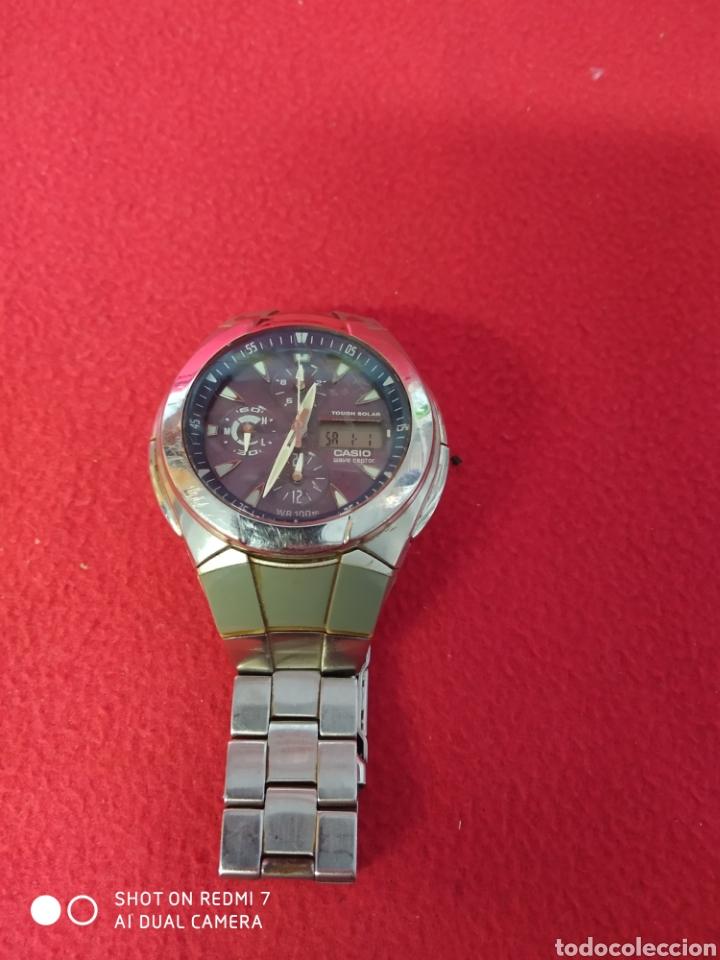 RELOJ CASIO WAVE CEPTOR EVALUACIÓN 510 E (Relojes - Relojes Automáticos)